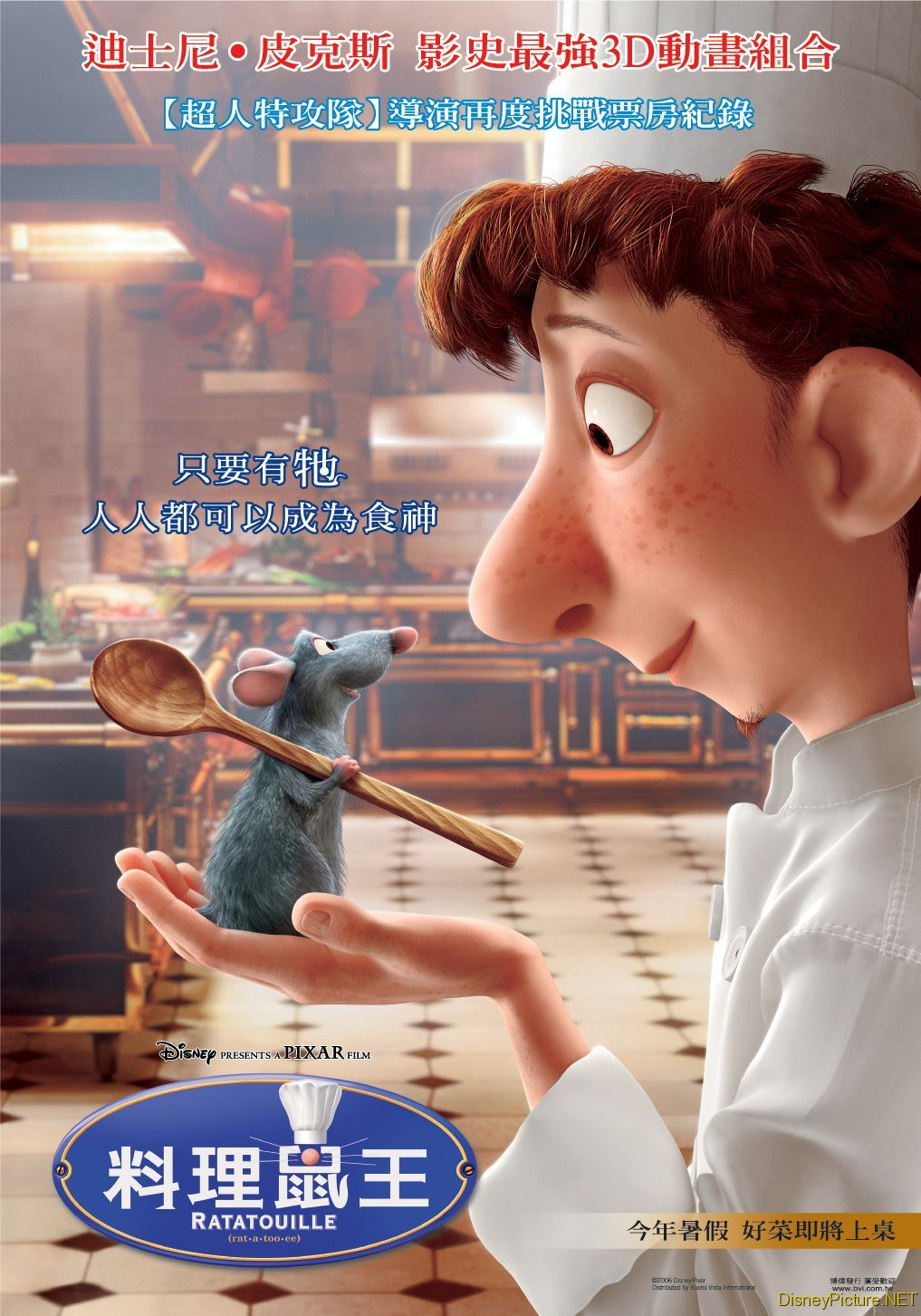 Ratatouille china Poster