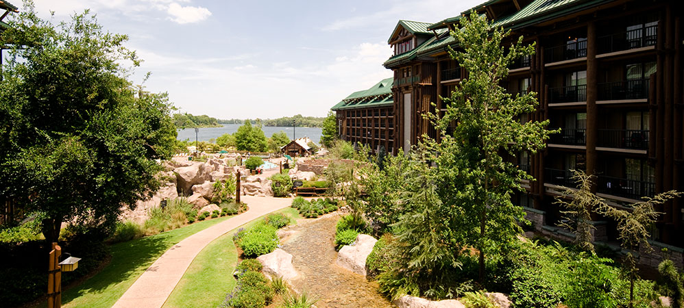 Wilderness Lodge enterance