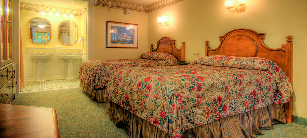 Port Orleans Resort ROOMS