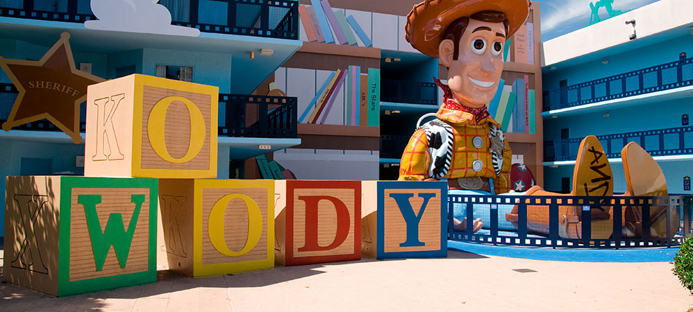 All-Star movies resort toy STORY
