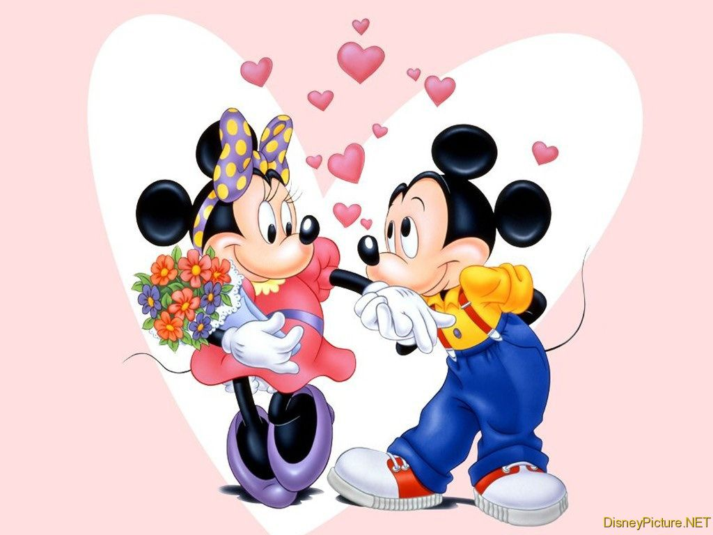 Minnie mickey Mouse 1024x768