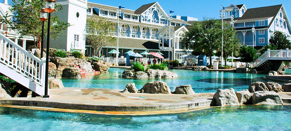 disney Beach club resort POOL