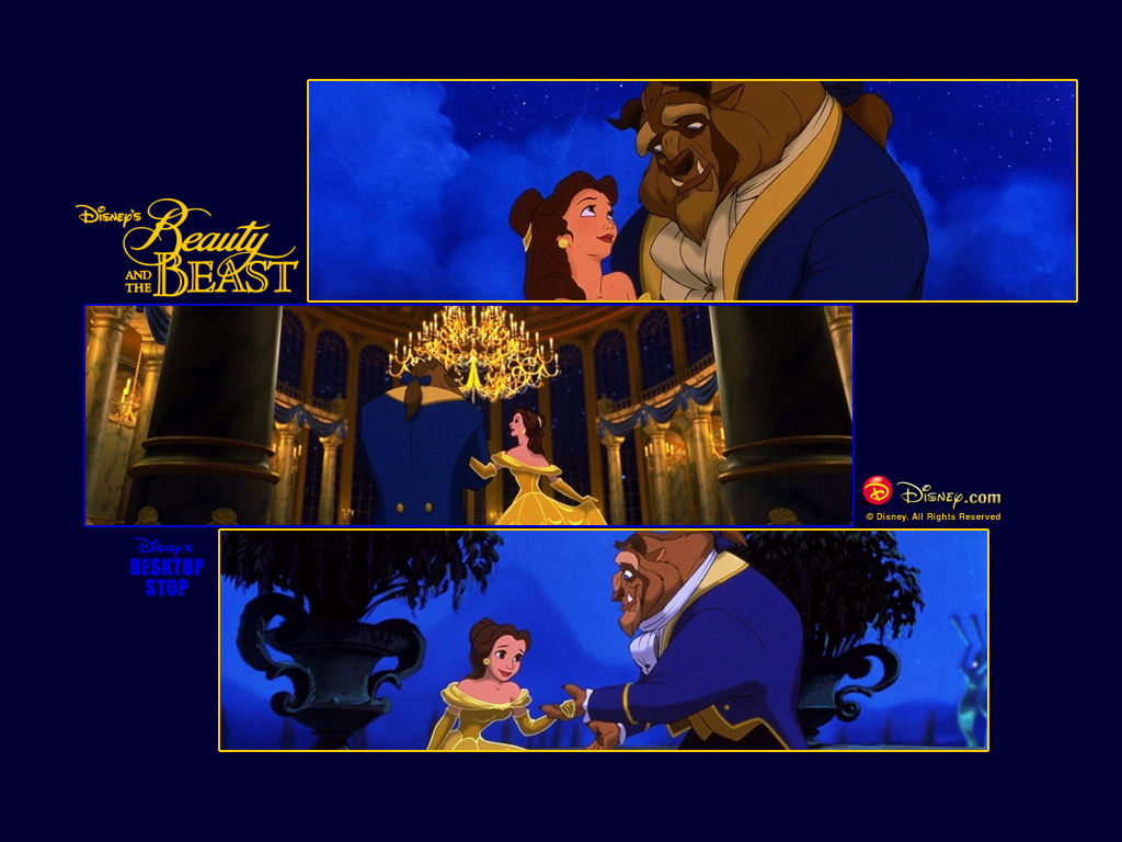 Beauty and the Beast desktop