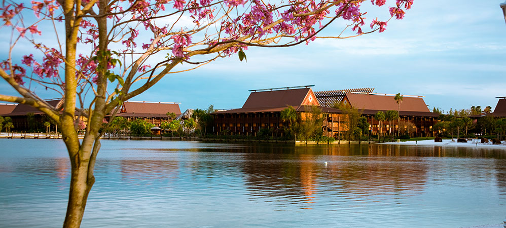 Polynesian-Resort-sun