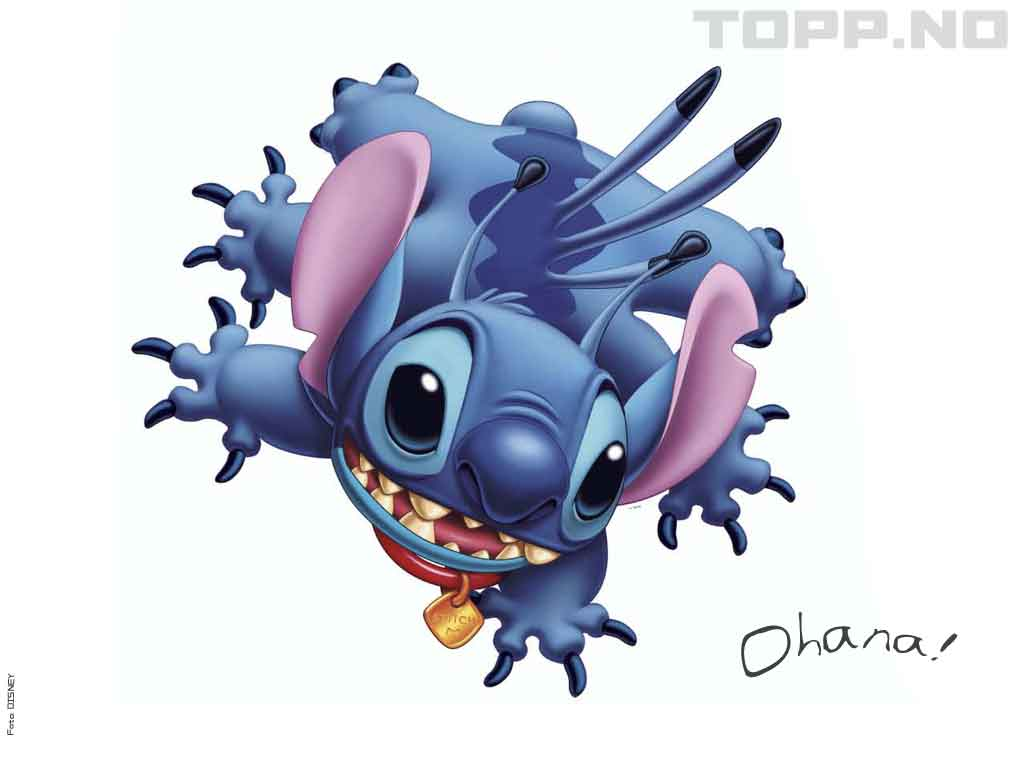 Lilo and Stitch 1024x768