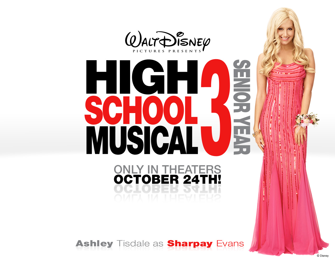 Ashley Tisdale High School Musical 3 Wallpaper 1280x1024