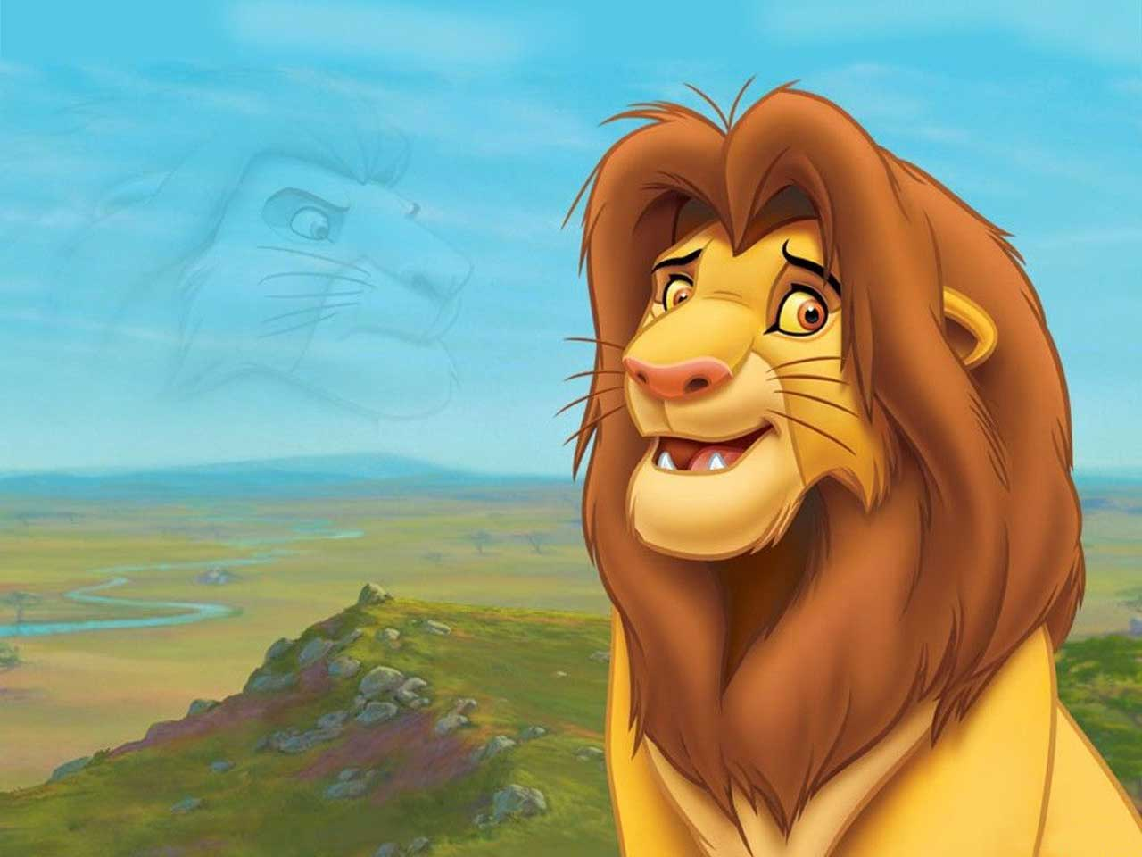simba cartoon wallpaper photo