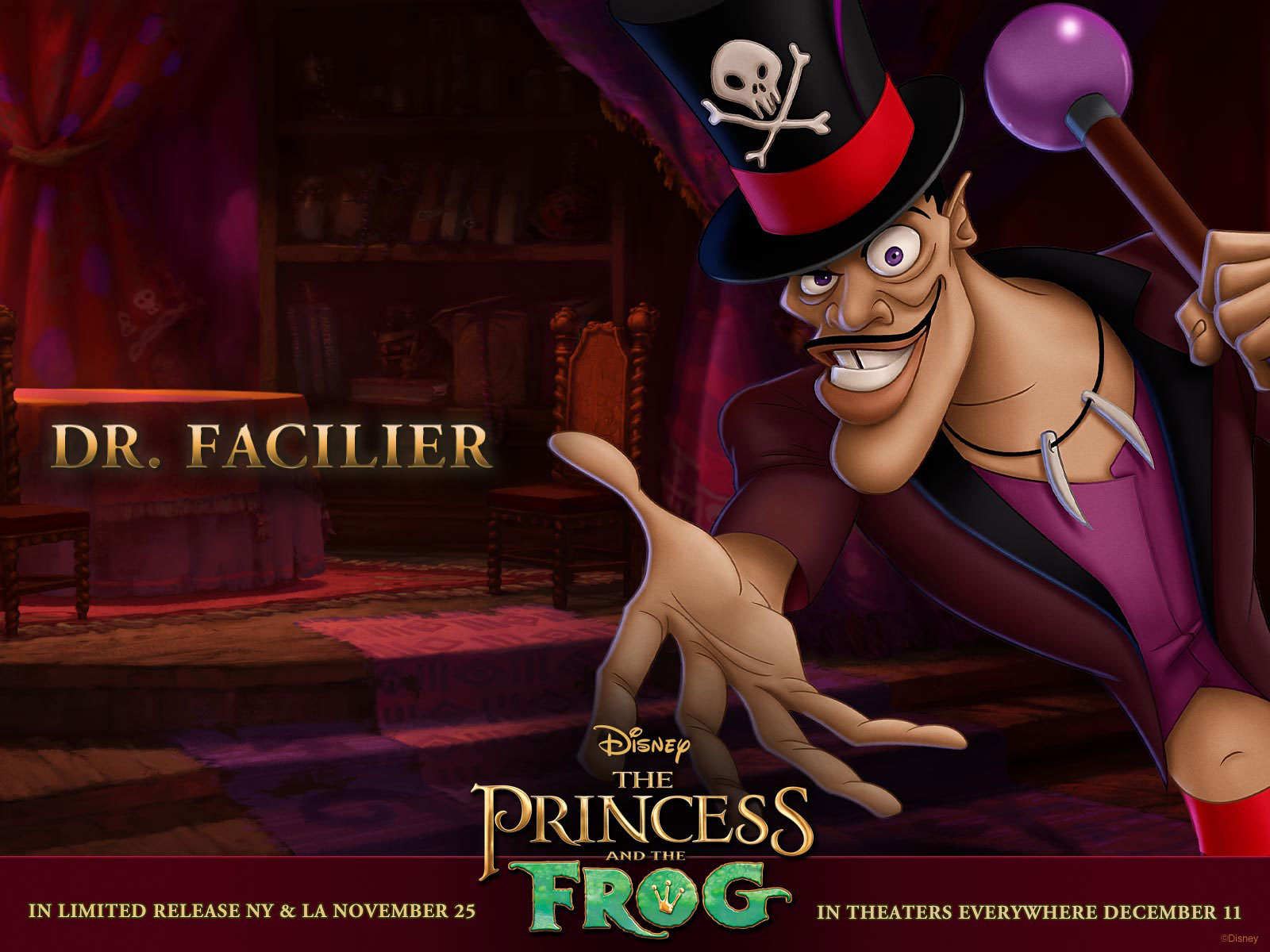 the princess and the dr facilier