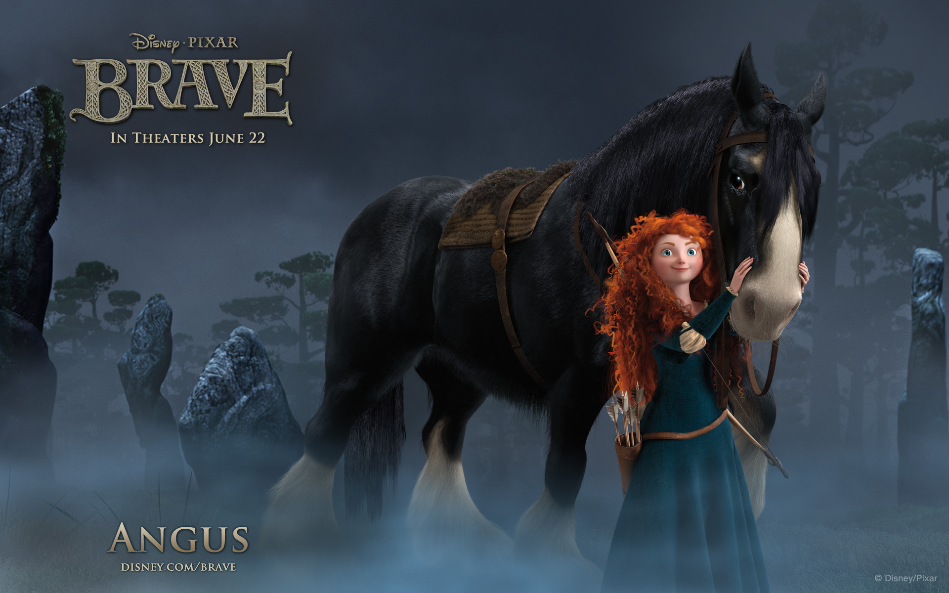 Brave Angus widescreen