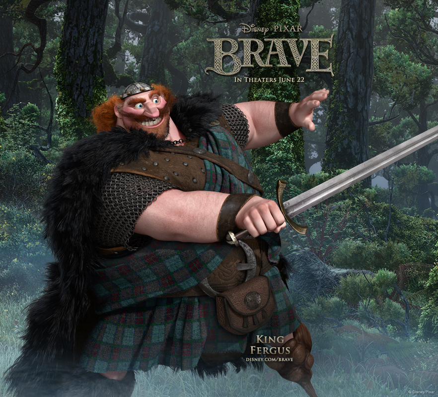 brave android King Fergus