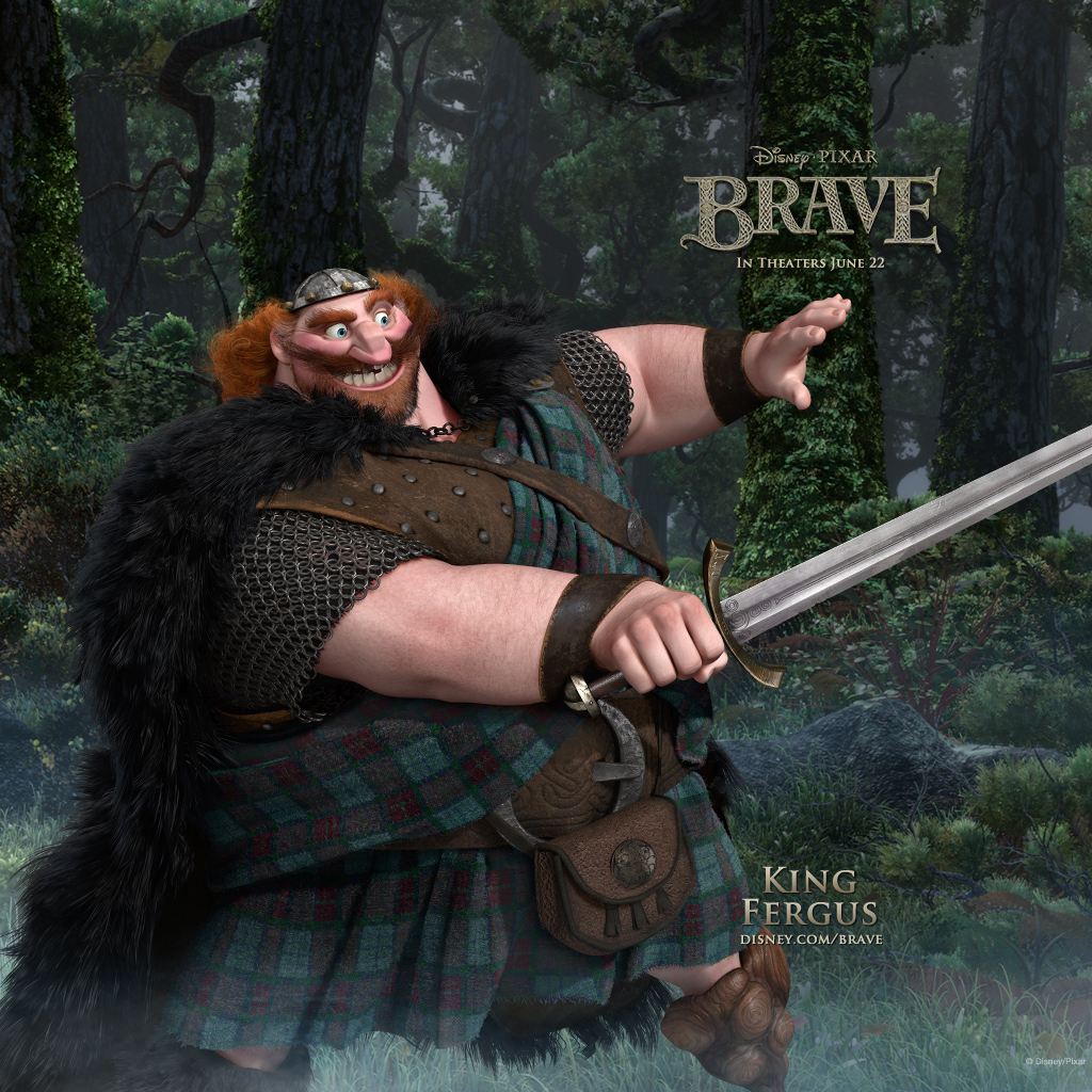 brave iPad King Fergus
