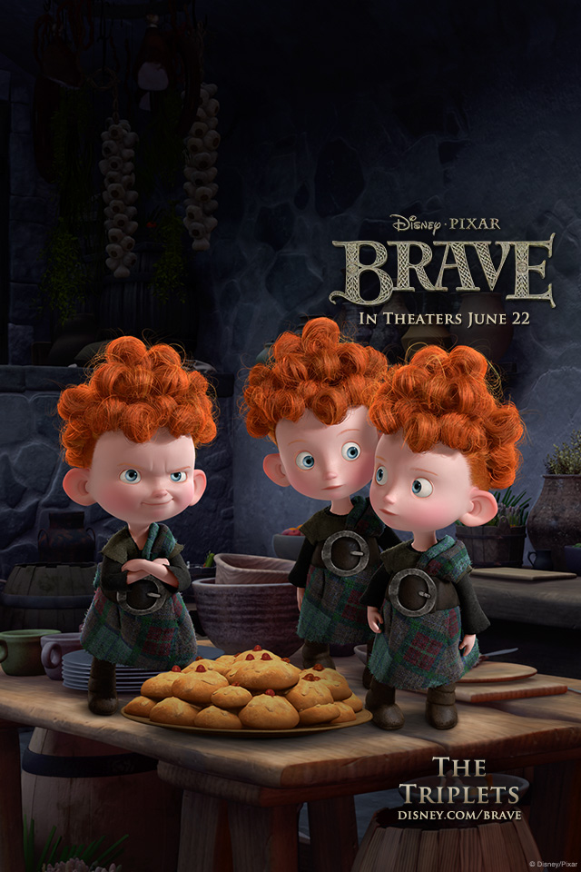 brave iPhone The Triplets