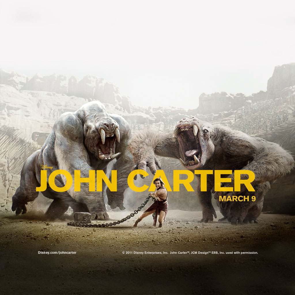 disney john carter ipad
