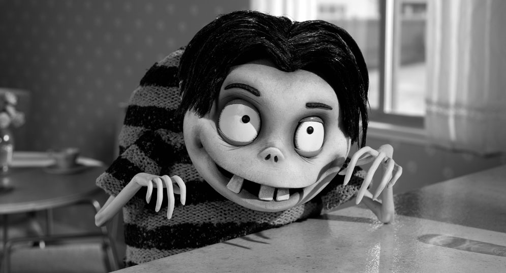 Frankenweenie disneys movie