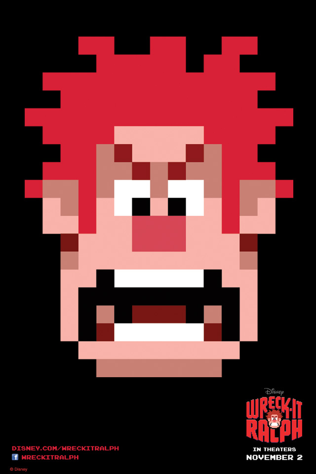 wreck-it-ralph iphone 640x960
