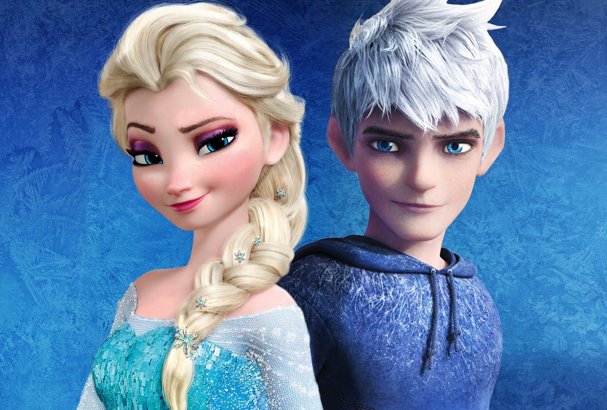 free elsa and jack frost