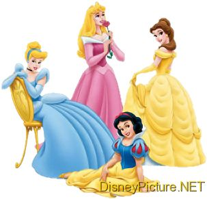 Disney Princesses 1024x768