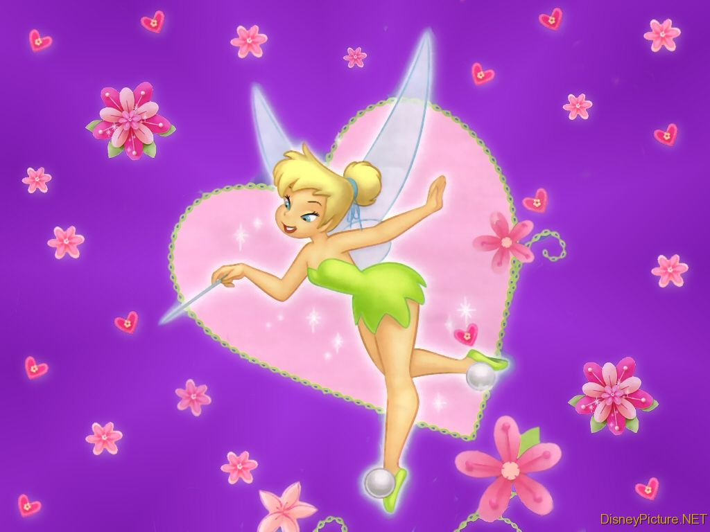 Tinkerbell Free Disney Coloring Pictures Tinkerbell
