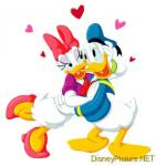 Donald and Daisy Duck funny